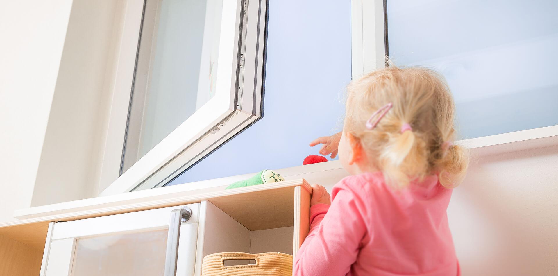 ISI SAFE Kindersicherung offenes Fenster